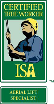 ISA Certified Tree Worker Aerial Lift Specialist Logo
